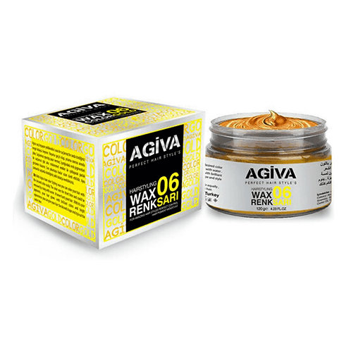 AGIVA HAIR PIGMENT WAX 06 COLOR GOLD 120 GR