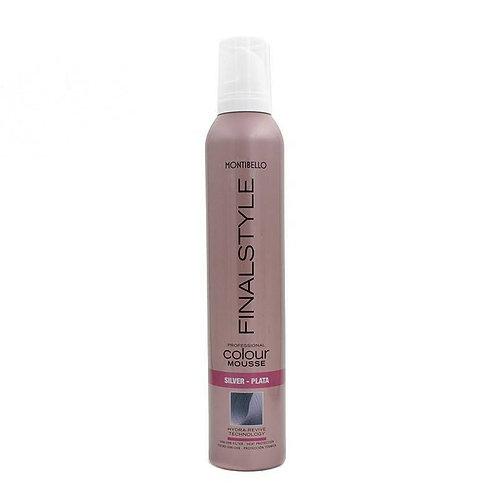 Montibel·lo Finalstyle Colour Mousse Silver 320 ml