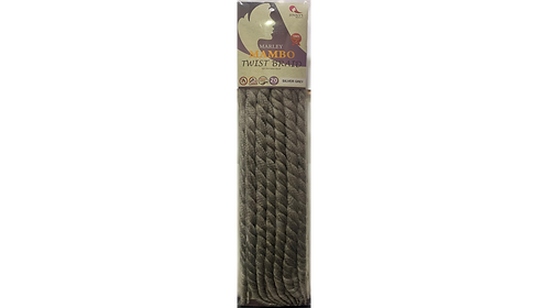 JINNY'S MARLEY MAMBO TWIST BRAID SILVER GREY