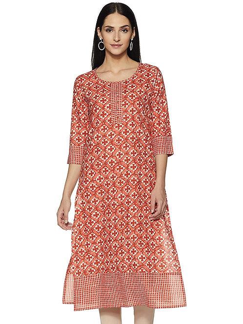 Women's Kurta - Cotton Straight Fit - AY
