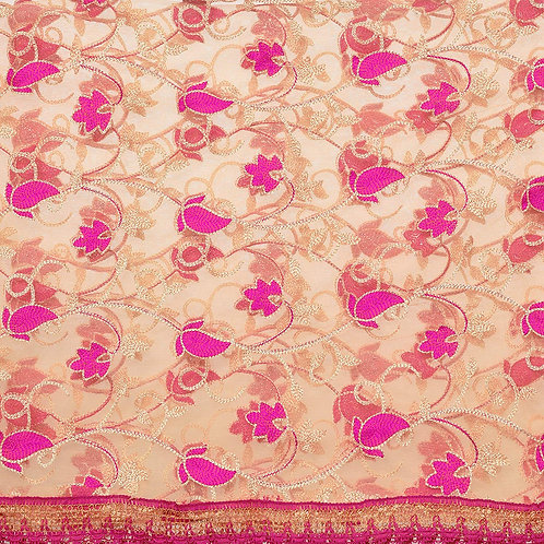 Women's Dupatta - Net Embroidered - WV