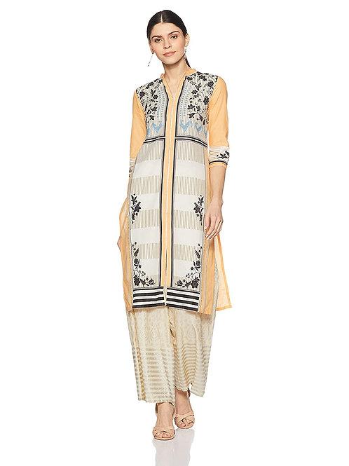 Women's Kurta - Cotton Straight Fit