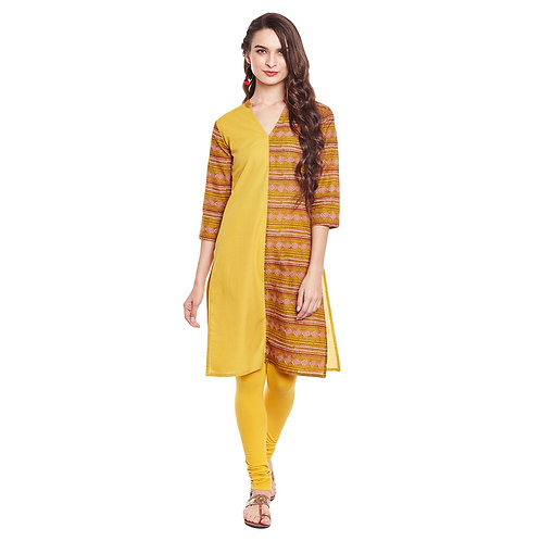 Women's Kurta - Cotton Straight Fit - RR