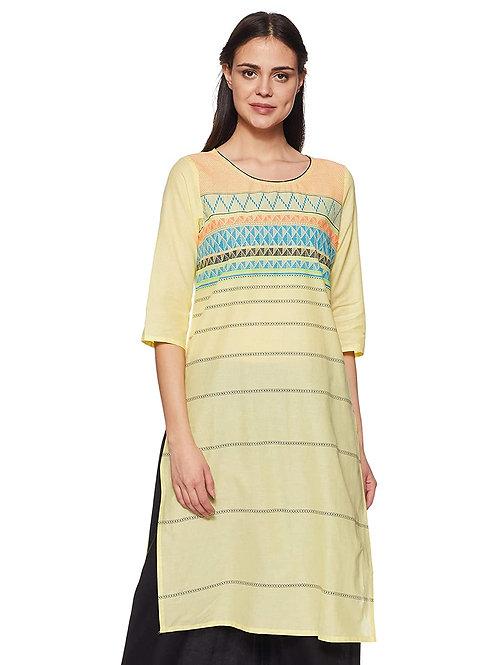 Women's Kurta - Cotton Straight Fit - AU