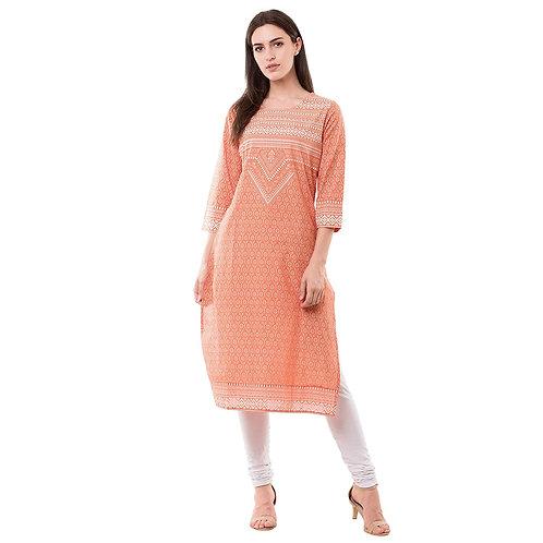 Women's Kurta - Cotton Straight Fit - OT