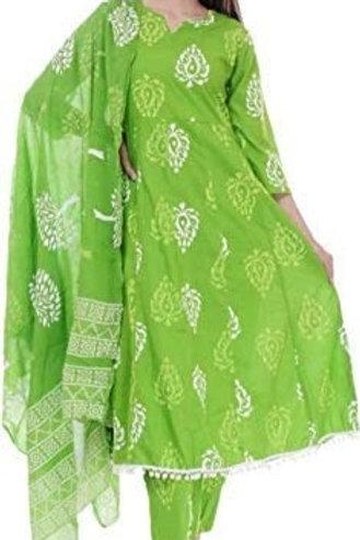 Women's Salwar Suit - Cotton - KW