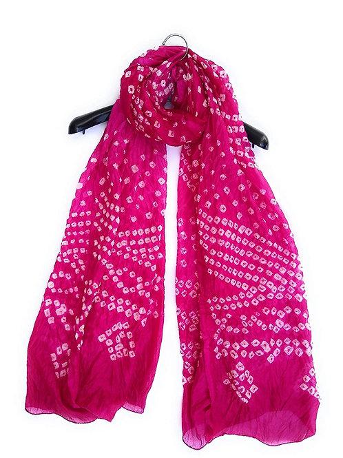 Women's Dupatta - Rajasthani Tapeta Silk - CE