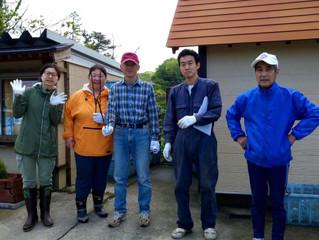 komoreメンバーで別荘地のゴミ拾いをしました