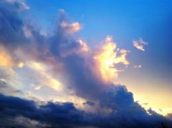 Storm Cloud Meets Sunshine