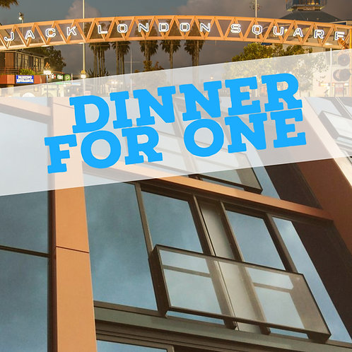4 March 2020 - Dinner for one - Dinner Meeting