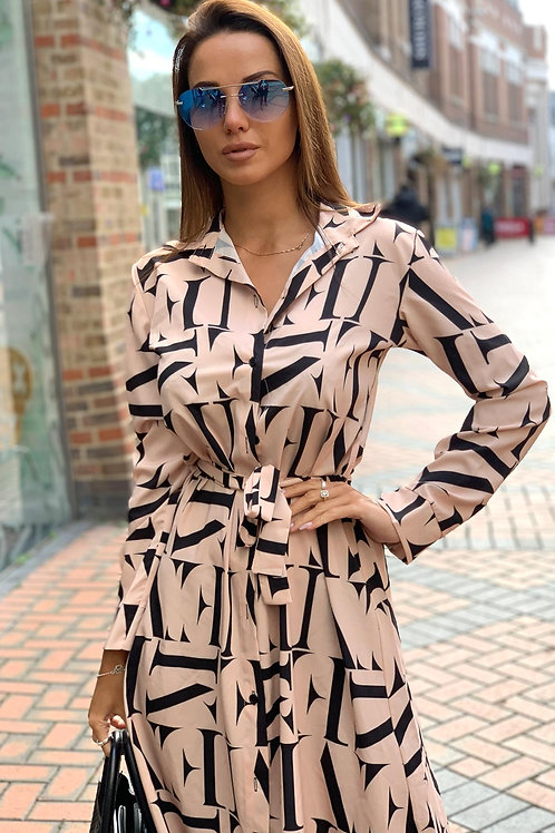 Stella Midaxi Shirt Dress