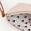 Thumbnail: Caroline Gardner Pink Wristlet Purse