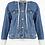Thumbnail: Hooded Denim Jacket (Detachable Hood)