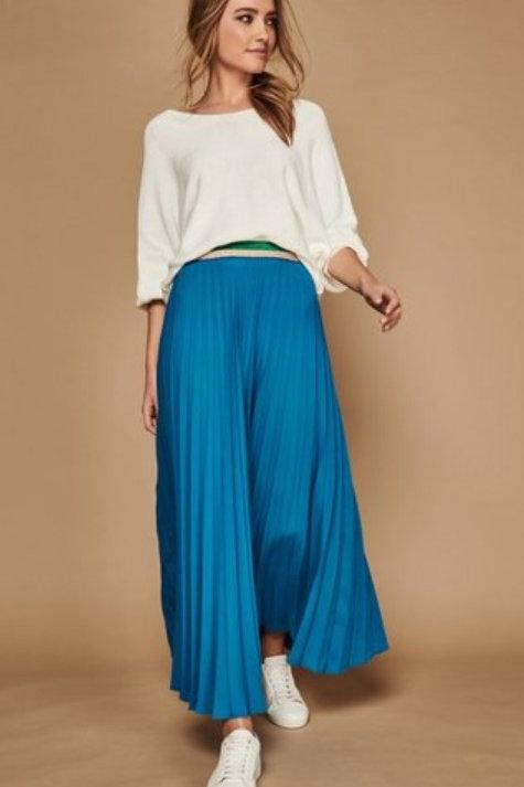 Sonder Studio Pleated Midi Skirt