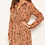 Thumbnail: AX Paris Tan Heart Shirt Dress