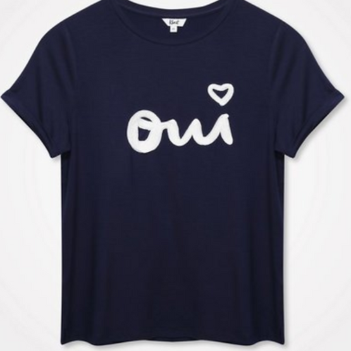 Khost Oui Embroidered T-Shirt
