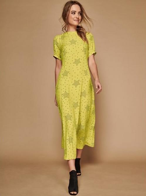 Sonder Studio Star Print Midi Dress