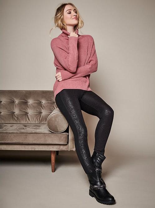 Sonder Croc Faux Leather Leggings