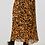 Thumbnail: Mustard Animal Print Midi Skirt