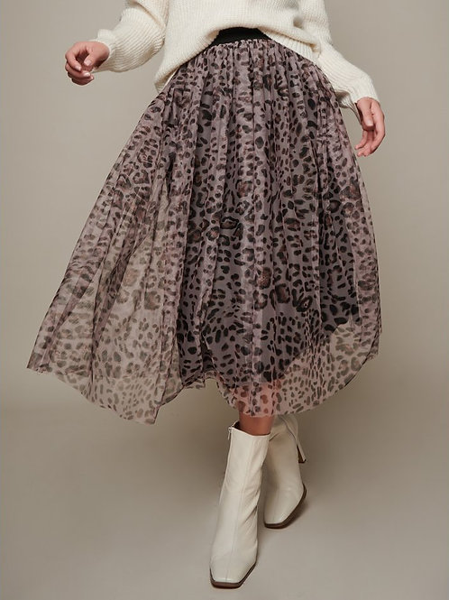 Sonder Animal Tulle Skirt