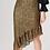 Thumbnail: Khaki Sequin Asymmetric Skirt