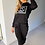 Thumbnail: AX Paris Black CG Loungewear Set