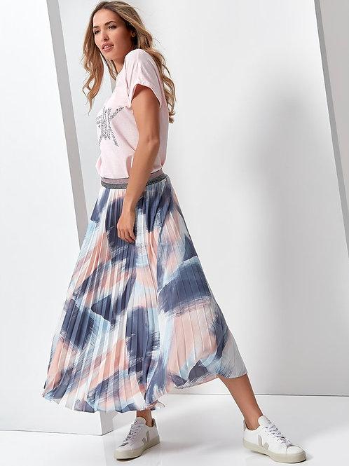 Sonder Studio Paintbrush Pleated Skirt