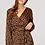 Thumbnail: Greek Key Print Plunge Maxi Dress