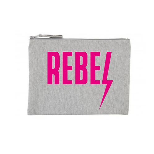 PersonaliTee Rebel Clutch /Make up Bag