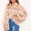 Thumbnail: AX Paris Pink Floral Sheer Shirt