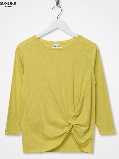 Sonder Studio Lime Knot Front Top