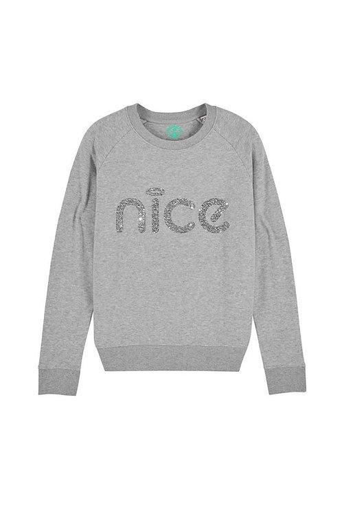 Nice Sweatshirt by PersonaliTee