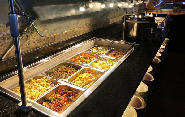 East Colonial Salad bar section