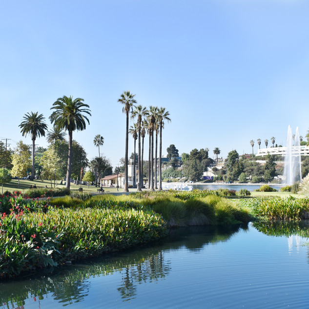 Echo Park Lake Rehabilitation