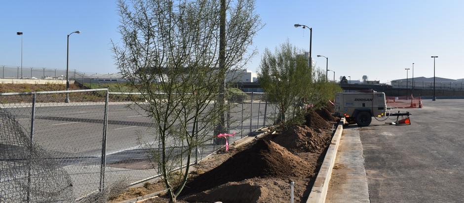 Construction Observation for Delta Maintenance Hangar in LAX