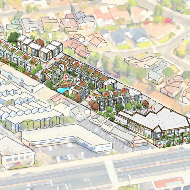 Foothill Mixed-Use Master Plan