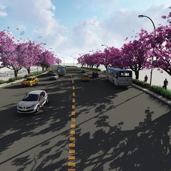 Los Angeles World Airport Jetway Boulevard