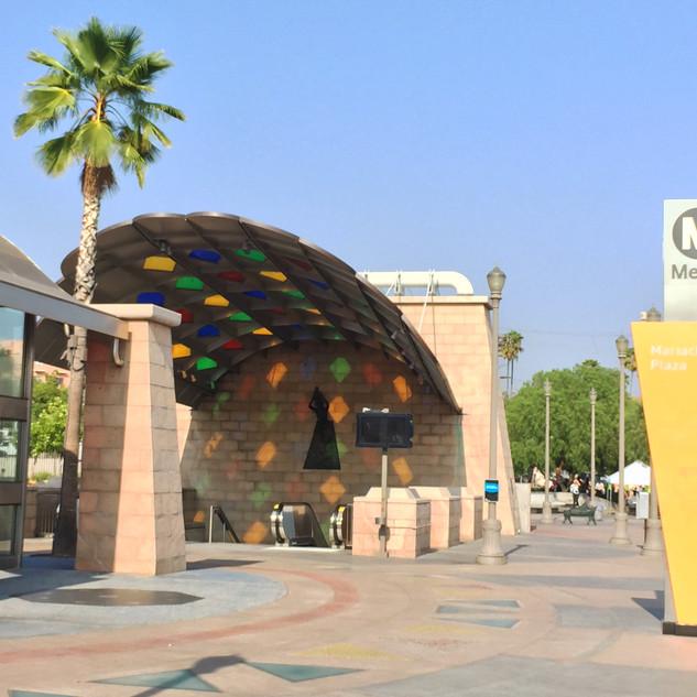 Metro Goldline East Side Extension Mariachi Plaza