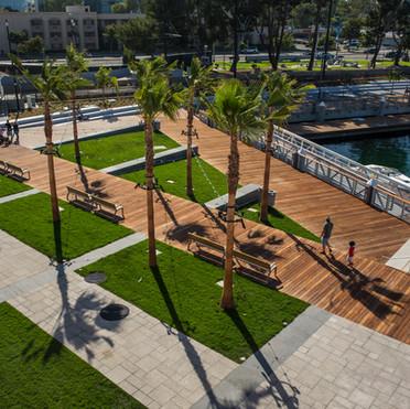 LA Waterfront Downtwon Harbor
