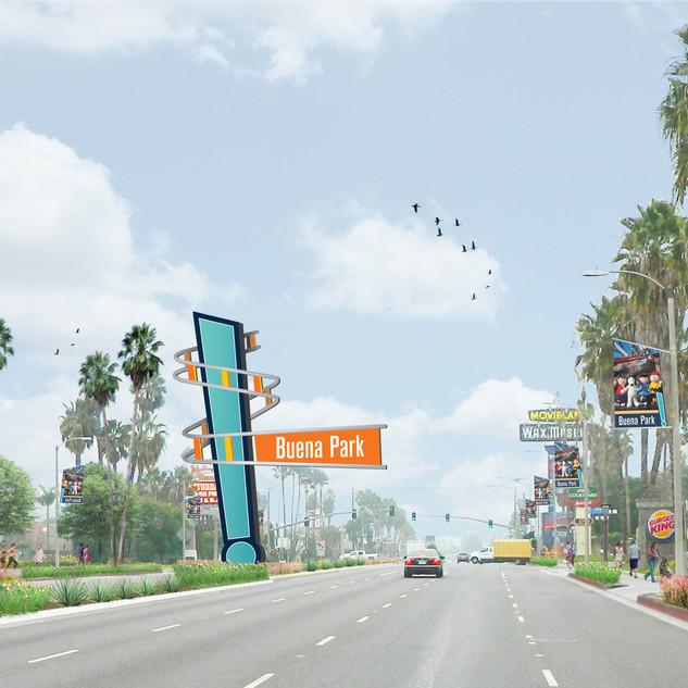 Buena Park Beach Boulevard