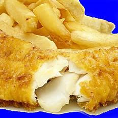 1 pc Fish  w/sauce & Fries