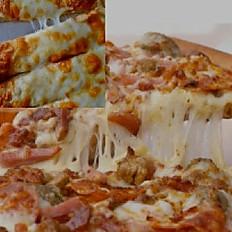 """Any 12"""" Pizza & 12"""" Garlic Fingers"""