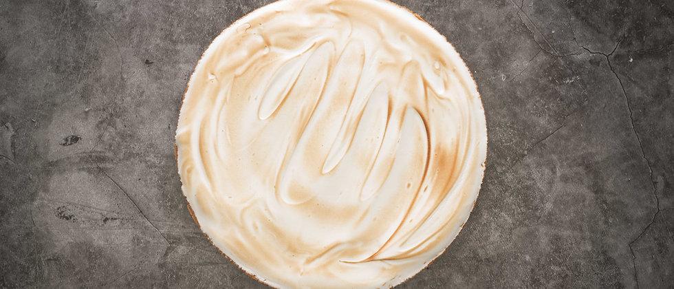 Croute crème vanille, confit de fruits rouges et meringue italienne