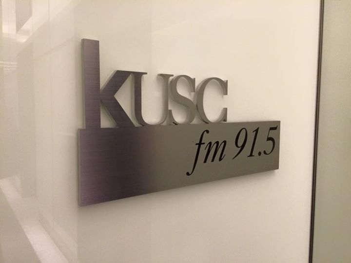 KUSC!!! Showing some Trojan MusicMaster love with our USC client