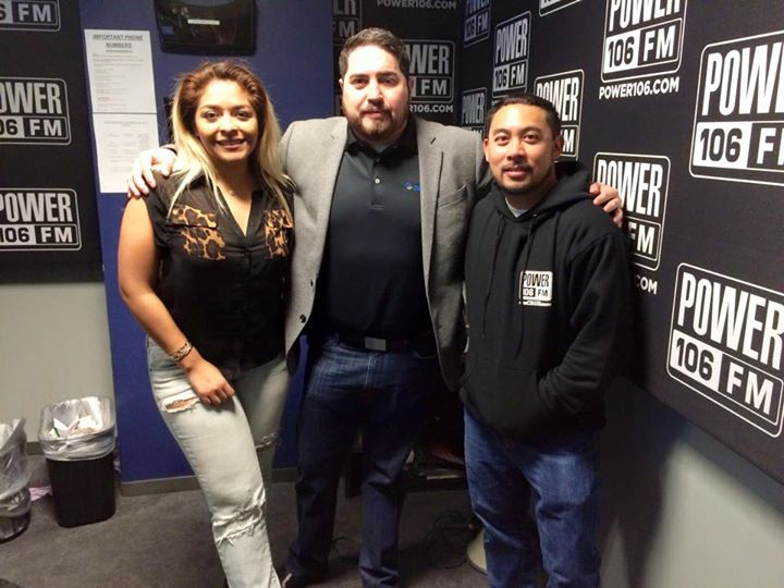 Yessi and E-Man at Power 106