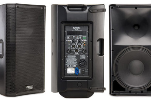 QSC K12 Powered Speaker Rental By The Party Rescue