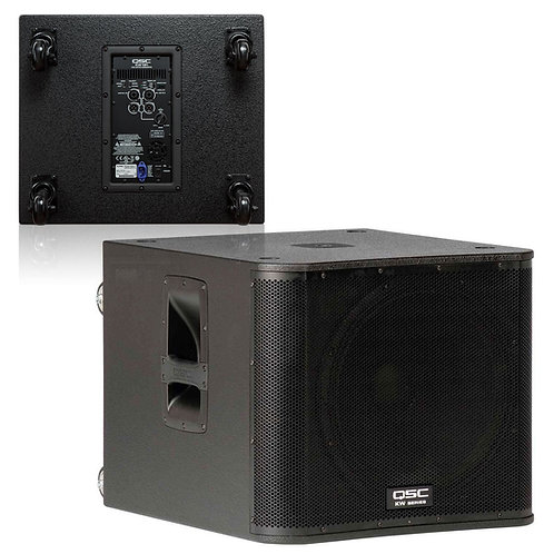 QSC KW181 Subwoofer Rental By The Party Rescue
