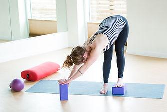 Yoga Tune Up Asymetrical Forward Fold