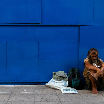 Homeless People are at High Risk of Dehydration and Heat Exhaustion During the Summer