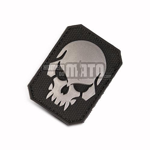 Patch PVC Skull Preto